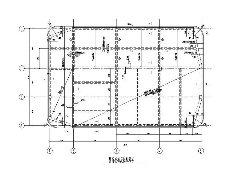 单层钢混框架结构高压氧舱结构施工图