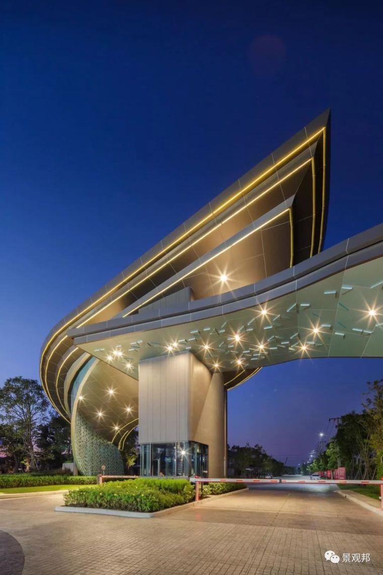 从景观大门看泰国设计,人家真的在认真做原