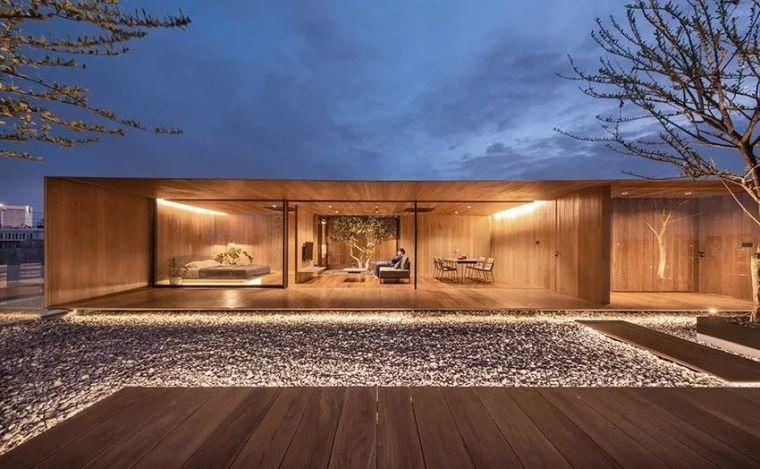 泰国,曼谷,空中景观住宅/WARchitect