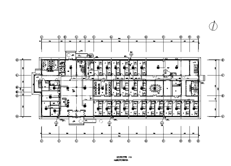 湖北医院行政楼暖通设计施工图