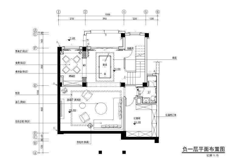 [湖南]四层别墅样板间方案+CAD全套施工图