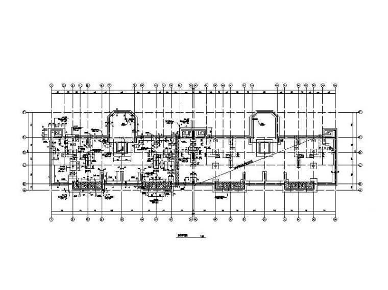 [恒大]6层异形柱-框剪结构住宅楼结构施工图