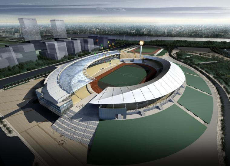 [广东]佛山市体育中心规划与建筑方案文本