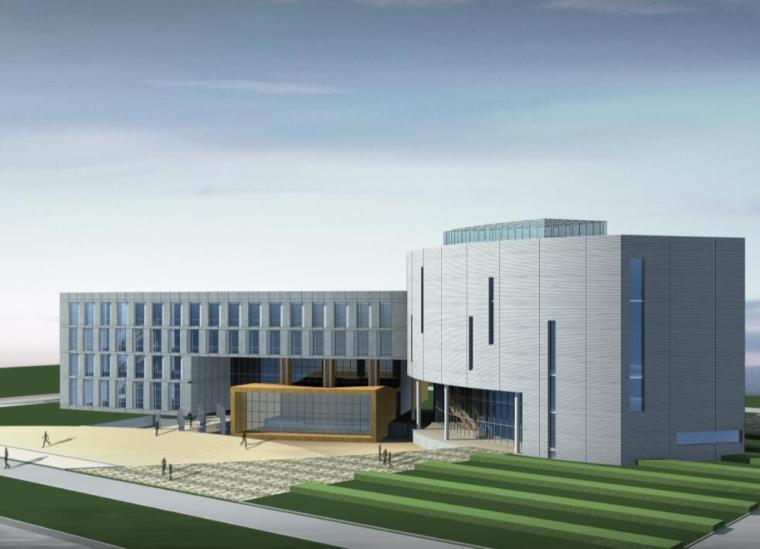 国家海洋局北京教育培训中心建筑方案图