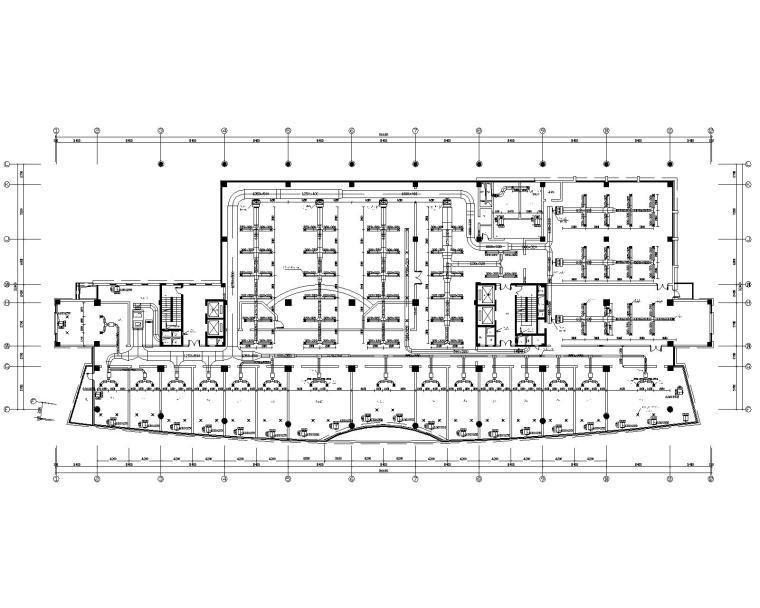 厦门市十六层办公楼暖通设计施工图