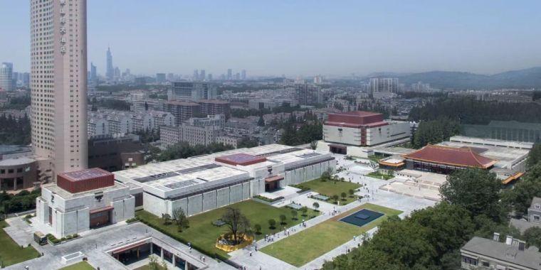 大型公共建筑设计:南京博物院/改扩建