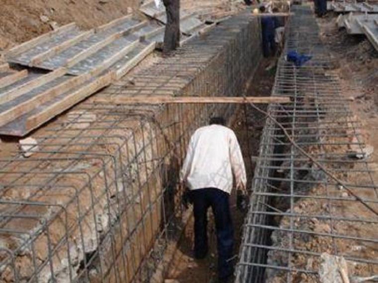 地下连续墙与逆作法施工技术