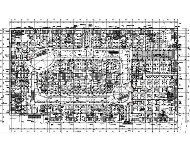 武威万达广场项目暖通设计图