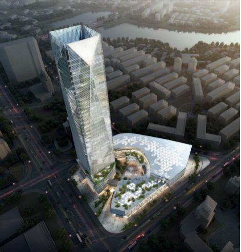 """看金银湖大厦建设项目落地""""BIM+智慧工地"""