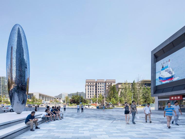 青岛南信环球金融中心景观