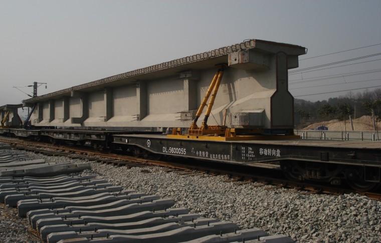 2201型铁路简支T梁架设施工技术