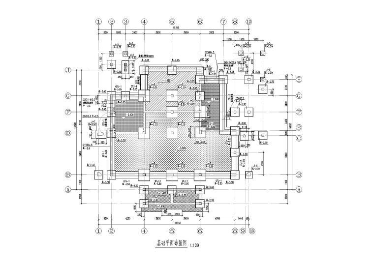 三层框架住宅楼改造加固结构施工图