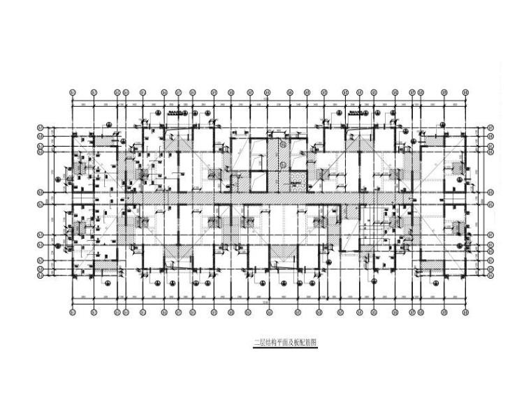 5栋高层剪力墙住宅楼建筑结构施工(2016)