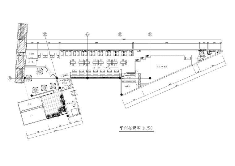 [杭州]利百加-丰盛面家餐厅施工图+效果图