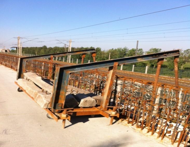 桥梁设计方案汇报材料资料下载-T梁运架施工汇报材料