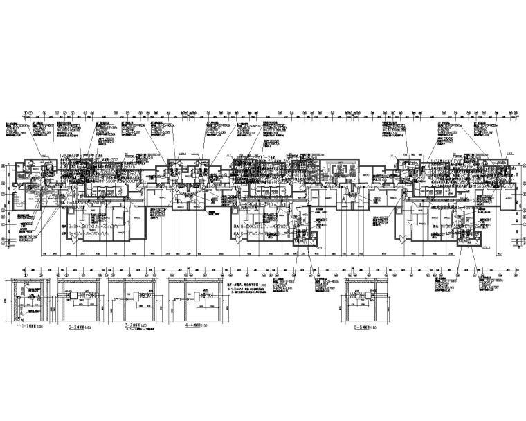 杨凌示范区人才公寓十八层住宅楼暖通施工图