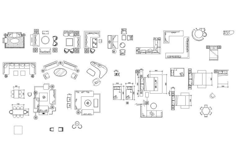 齐全美观实用性CAD图库(平立面)