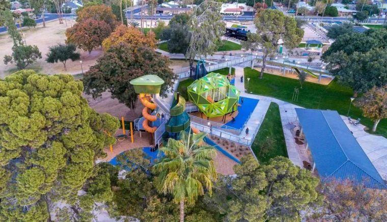 公园景观设计,稠密城市之中的呼吸之地!