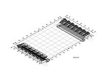 室外游泳跳水场建筑结构施工图(2014)