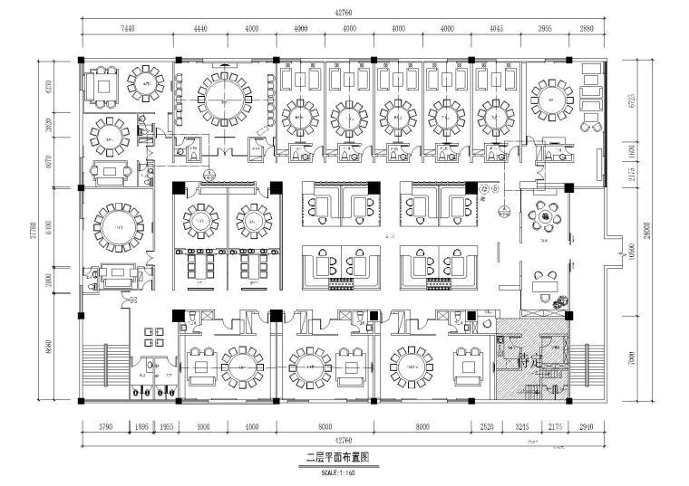 [南宁]左加-山尚厨房时尚餐厅施工图+实景