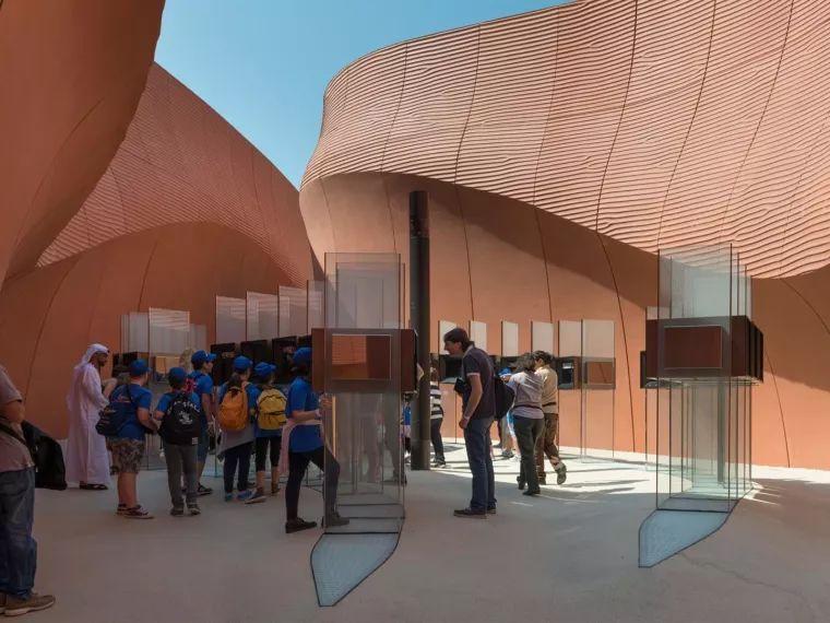 米兰世博会阿联酋馆的设计细节