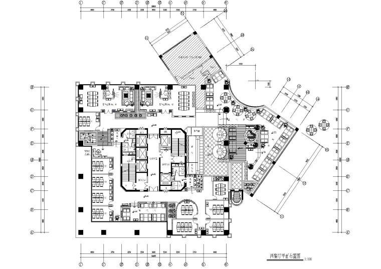 [四川]利百加-重庆欧式咖啡厅施工图+效果图