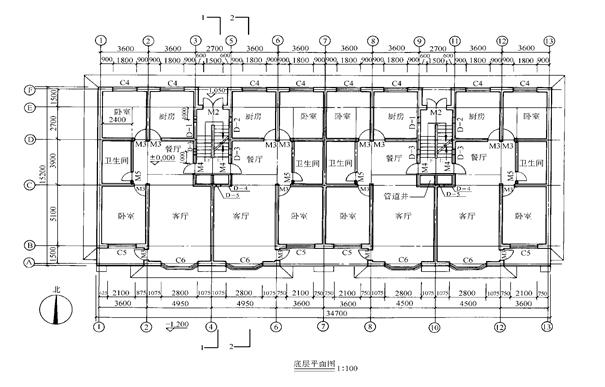 房屋建筑施工图全面教学(一应俱全)