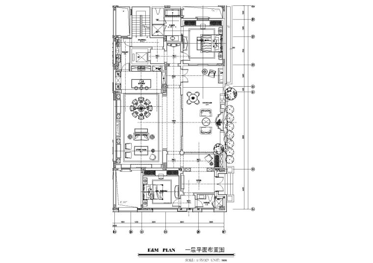 戴昆-成都绿城文儒德项目别墅样板间施工图