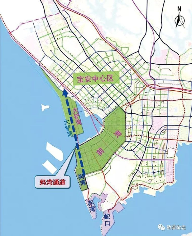 围栏bim资料下载-妈湾跨海通道:从跨海工程中探索BIM本质