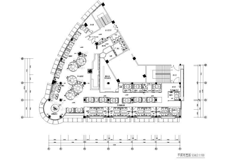 [福建]上岛咖啡沙县店室内装饰工程施工图