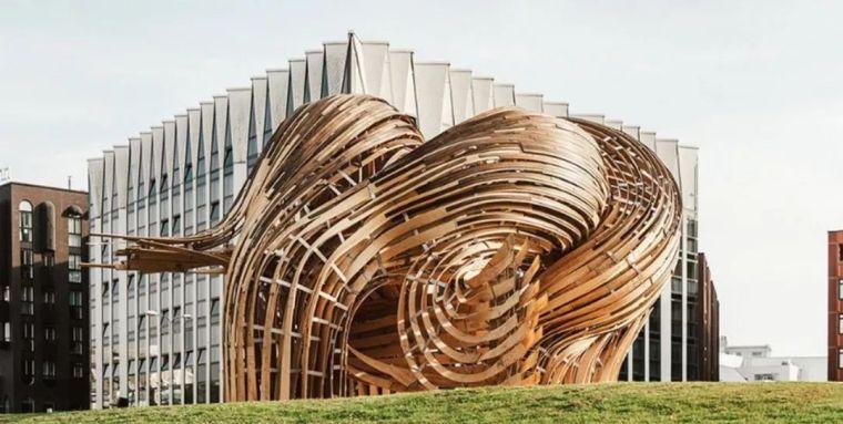 木材扭曲|展馆steampunk
