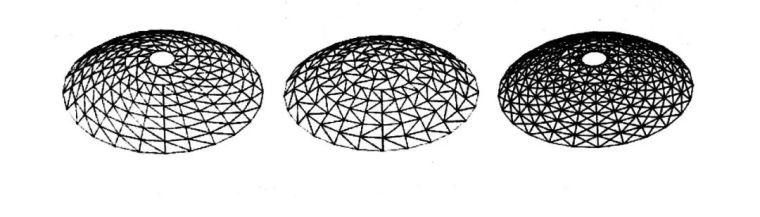 网壳结构找形分析浅谈及案例_4