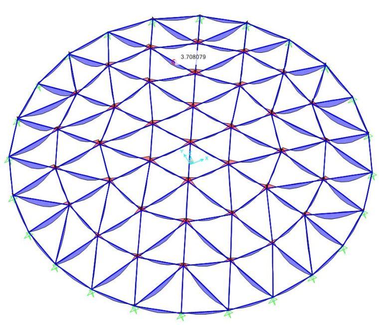 网壳结构找形分析浅谈及案例_32
