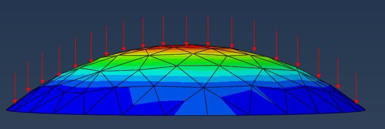 网壳结构找形分析浅谈及案例_31