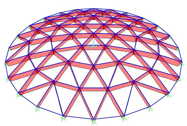 网壳结构找形分析浅谈及案例_33