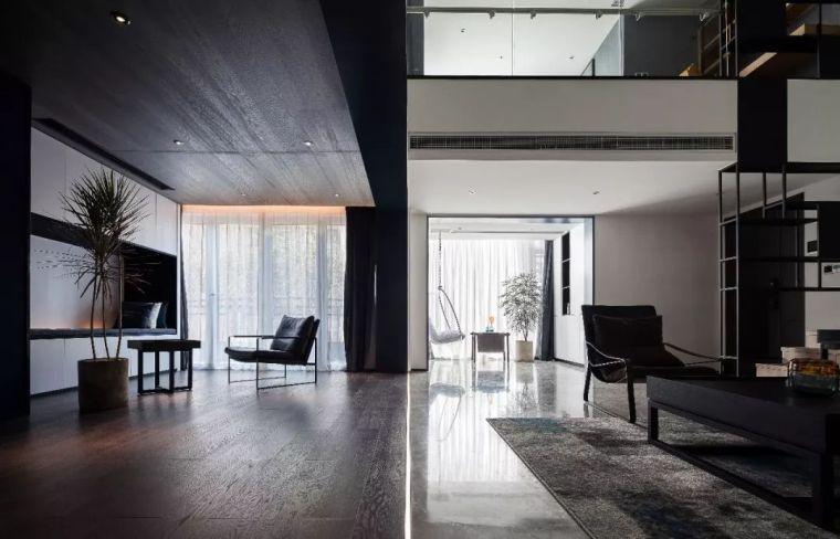 245㎡复式住宅:质感,才是高级的性感!