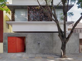 印度Khosla建筑工作室和tsk设计工作室