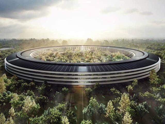 有钱任性,苹果耗资300亿做了个未来建筑!