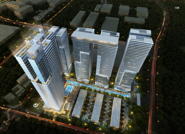 [广东]现代风格住宅商业建筑设计