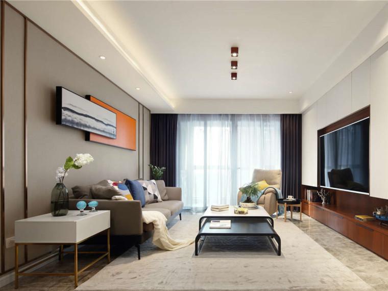 充满现代轻奢风格的居住空间