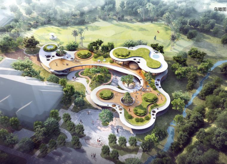 [北京]桃李春风小镇中心幼儿园概念方案一