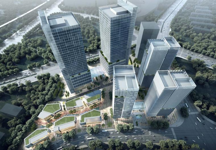 [湖南]超高层办公、人才公寓、商业建筑