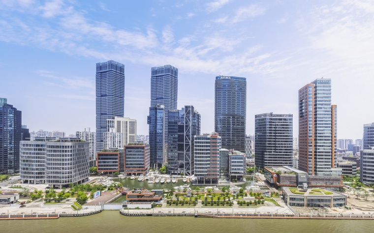 [MYP邁柏]上海北外灘濱江匯山地塊景觀