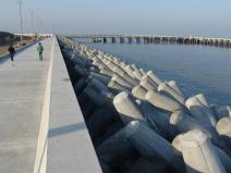 港口水工建筑物之斜坡式防波堤講義