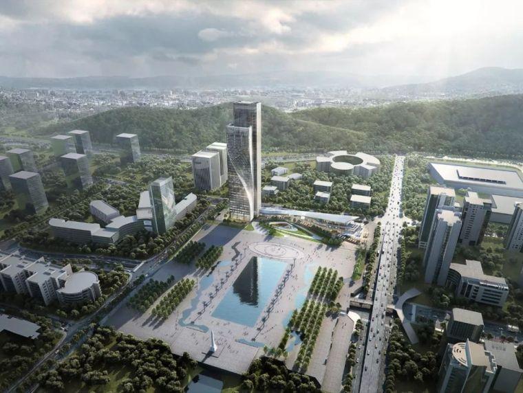 方案|重庆高科集团有限公司办公楼