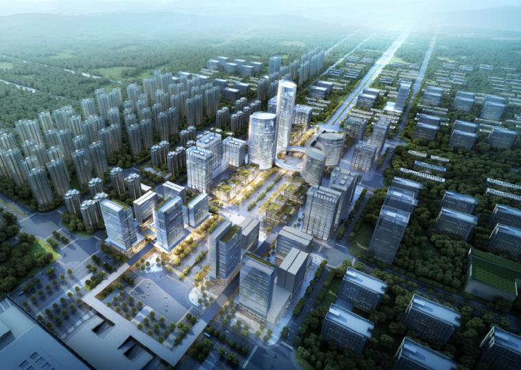 [江苏]徐州绿地之窗商业办公综合体建筑