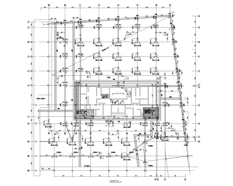 30层剪力墙结构商住楼结构施工图(地下车库)
