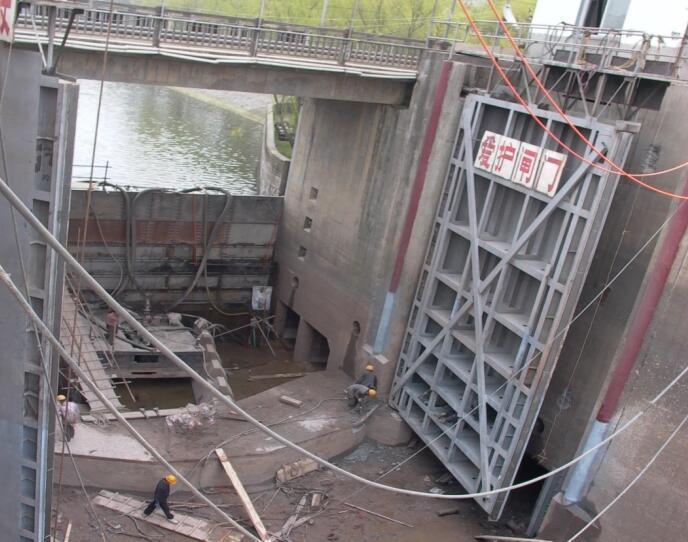 《渠化工程》第6章-船闸水工建筑物(4-6节)