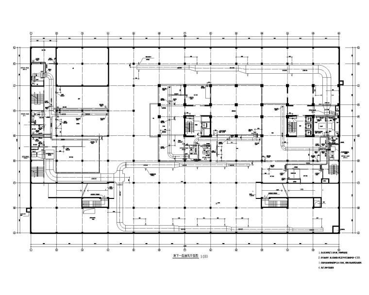 合肥瑞龙国际大酒店暖通设计施工图