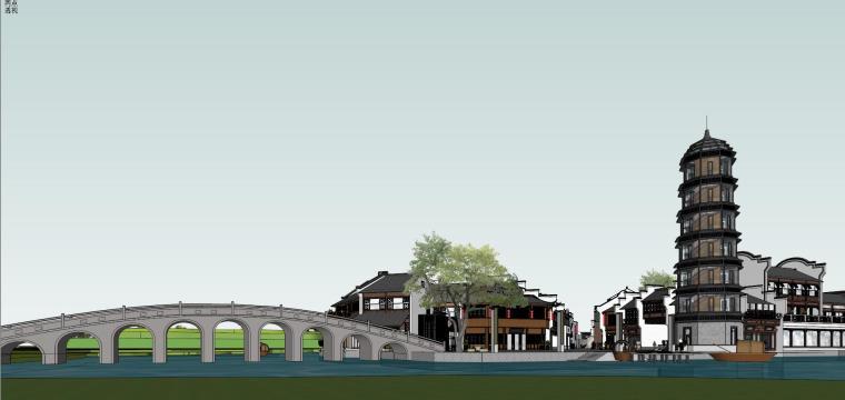 海通·御墅蓝庭会所+幼儿园景观模型设计
